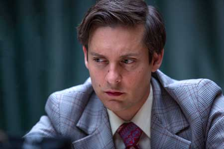 Tobey Maguire as Bobby Fischer in 'Pawn Sacrifice'