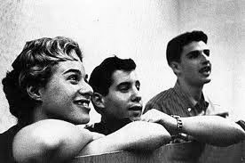 Carole Carole King, Paul Simon, Gerry Goffin as Queens College students in the late 1950s