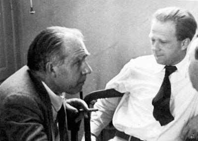 Niels Bohr and Werner Heisenberg