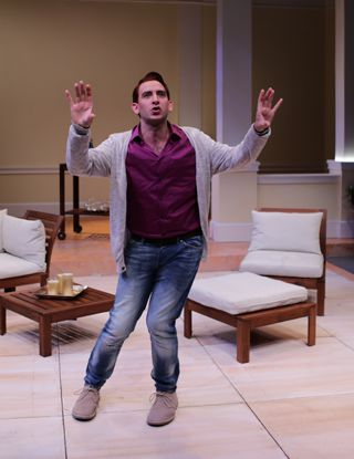 Phil Tayler as Alex More in 'Buyer and Cellar'
