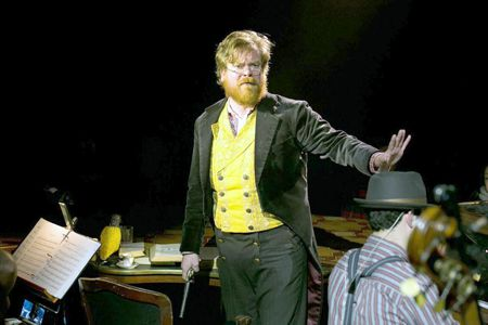 Scott Stangland as Pierre in 'Natasha, Pierre & The Great Comet of 1812'