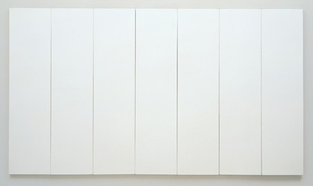Robert Rauschenberg, 'White Painting [seven panel]' (1951)