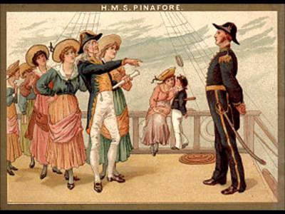 Old Pinafore poster