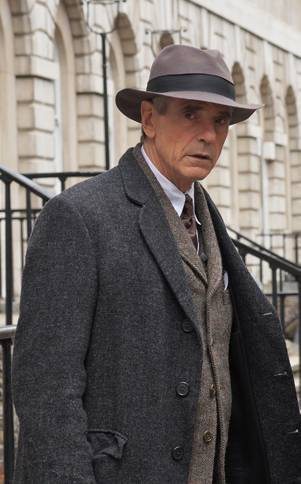Jeremy Irons as G.H. Hardy in 'The Man Who Knew Infinity