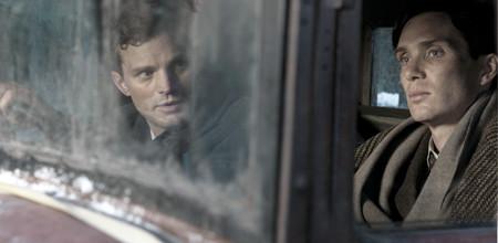 Jamie Dornan as Jan Kubiš, Cillian Murphy as Josef Gabčík in 'Anthropoid',A Bleecker Street release