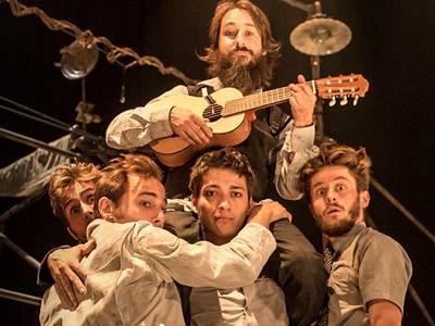 The Cast of 'Machine de Cirque'