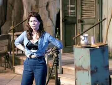 Dana Delany as Maxine in 'The Night Of The Iguana'