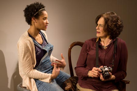 Rachel Cognata as Girlfriend, Kippy Goldfarb as Mother in 'Really'