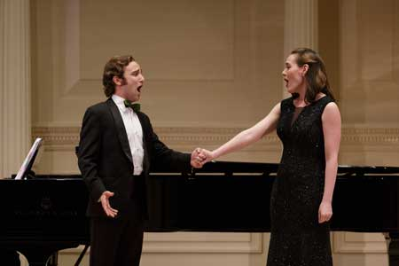 Theo Hoffman and Meredith Lustig