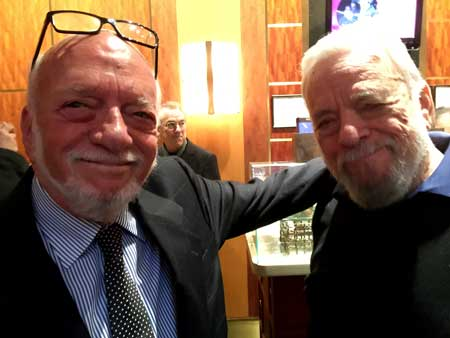 Hal Prince and Stephen Sondheim