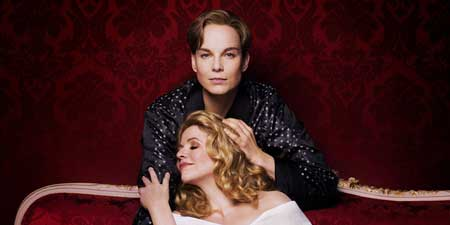 Renée Fleming as The Marschallin, Elīna Garanča as Octavian in 'Der Rosenkavalier'