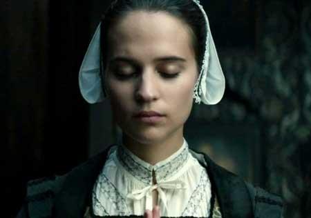 Alicia Vikander as Sophia Sandvoort in 'Tulip Fever'