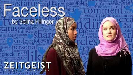 Aina Adler as Claire Fahti, Ashley Risteen as Susie Glenn in 'Faceless'