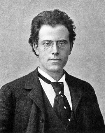 Gustav Mahler, a   round the time of the composition of his Symphony No. 1