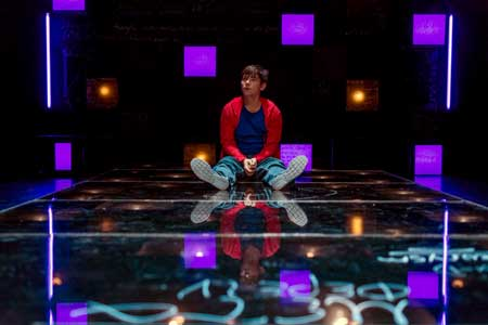 Eliott Purcell as Christopher in 'The Curious Incident Of The Dog In The Night-Time'