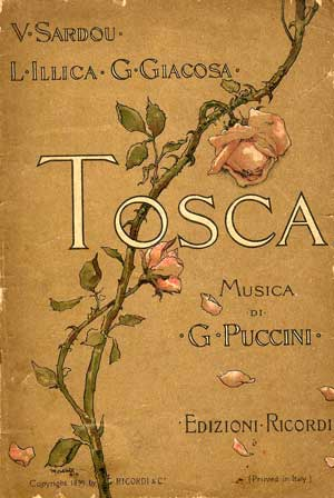 Cover of original 1899 libretto