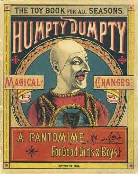 Humpty Dumpty Panto Poster