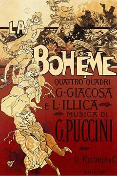 Original 1896 poster by Adolfo Hohenstein