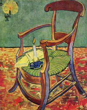 Vicent van Gogh, 'Gauguin's Chair' (1888)