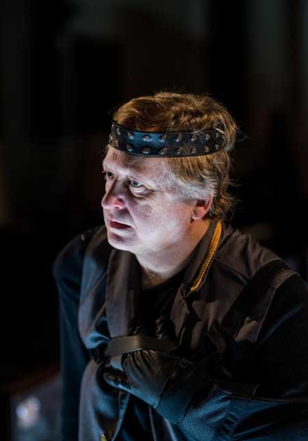 Steven Barkhimer as Richard III in 'Richard III'
