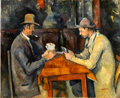 Paul Cezanne, 'The Card Players' (1895)