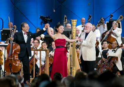 Yo-Yo Ma, Jessica Zhou, John Williams