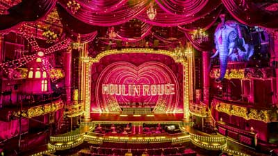 Set of 'Moulin Rouge! (The Musical)