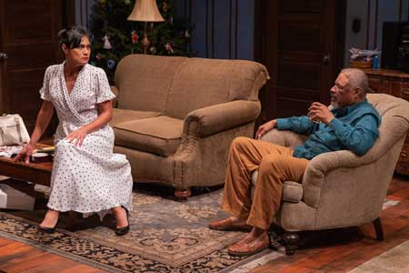 Celeste Oliva as Church Lady, Tyrees Allen as Pops in 'Between Riverside and Crazy'