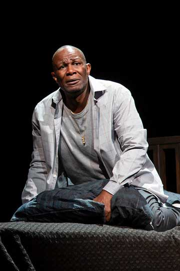 John Douglas Thompson as the older Emile Griffith in 'Man In The Ring'