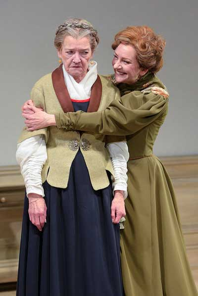 Nancy E. Carroll as Anne Marie, Mary Beth Fisher as Nora in 'A Doll's House, Part 2'