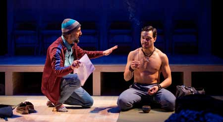 Nael Nacer as Ned, Sam Simakh as Rodney in 'Small Mouth Sounds'