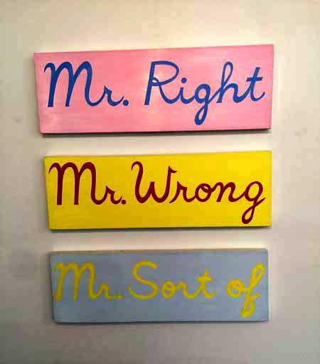 Monique Johannet, 'Mr. Right'