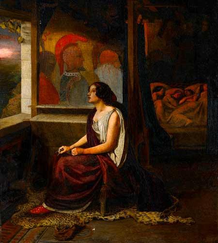 Thomas Seddon (1821-1856), 'Penelope'