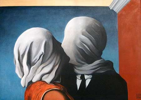 Rene Magritte, 'The Lovers' (1928)