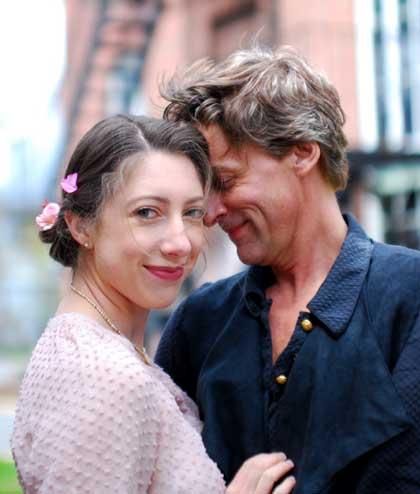 Shalyn Grow as Deirdre McDavey, David J. Hansen as Andrew Rally in 'I Hate Hamlet'