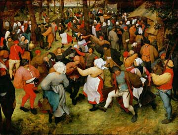 Pieter Breughel the Elder, 'Wedding Dance'