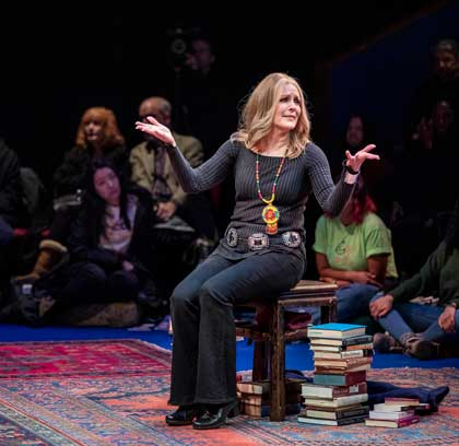 Patricia Kalember as Gloria Steinem in 'Gloria: A Life'