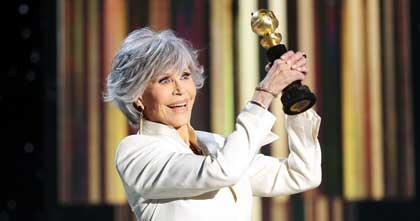 Jane Fonda Accepts Cecil B. DeMille Award at 2021 Golden Globes