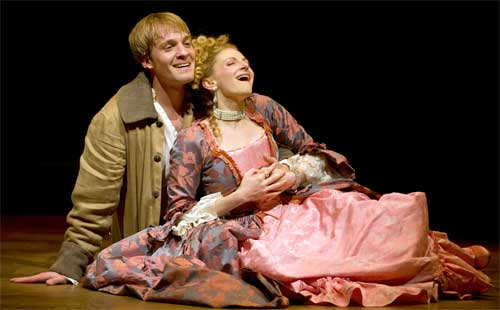 Candide and Cunegonde