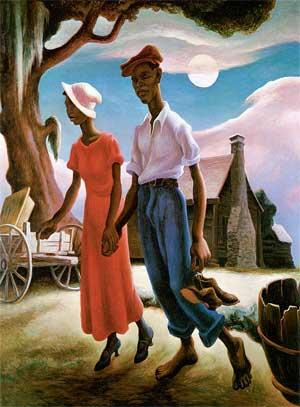 "Thomas Hart Benton, ""Romance"" (1931-2)"