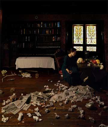"Julie Holcombe, ""Allegory of Melancholy"""