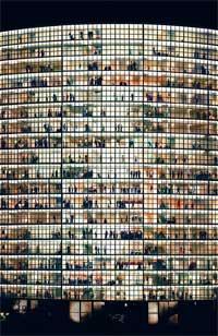 """Andreas Gursky, """"May Day V"""""""