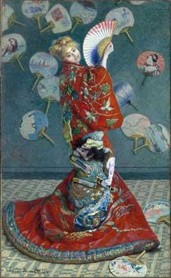 """Claude Monet, """"La Japonaise"""" (1876)"""