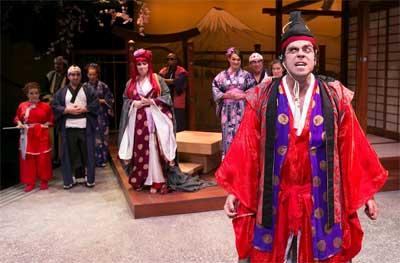Timothy John Smith as The Mikado