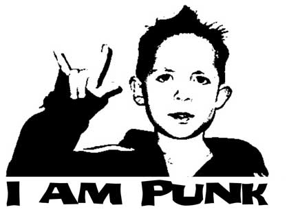 'I am punk' wallpaper