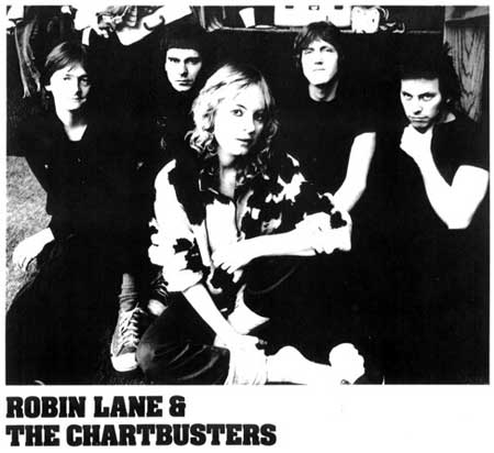 Robin Lane and the Chartbusters Album Cover