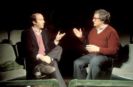 Gene Siskel and Roger Ebert in 'Life Itself'