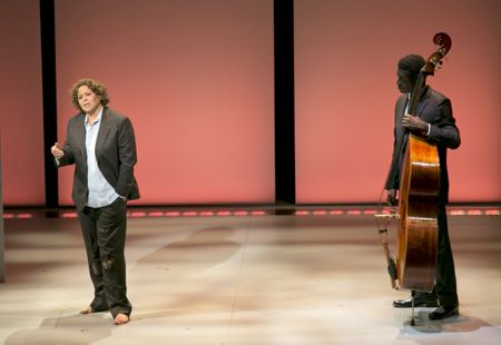Anna Deavere Smith and Marcus Shelby in 'Notes from the Field: Doing Time in Education'