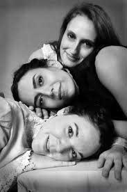 Siobhan Carroll as Irina, Deniz Khateri as Masha, Becca A. Lewis as Olga in 'Three Sisters'