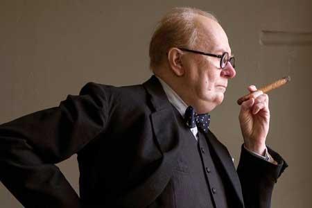 Gary Oldman as Winston Churchill in 'Darkest Hour'